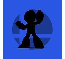 Smash Bros - Mega Man Photographic Print