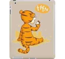 Tigger - Tata for now iPad Case/Skin