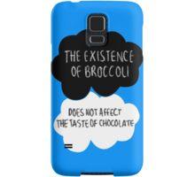 The Existence of Broccoli Samsung Galaxy Case/Skin