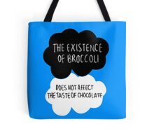 The Existence of Broccoli Tote Bag