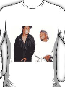 A$AP Rocky and Kendrick Lamar Vintage Style T-Shirt