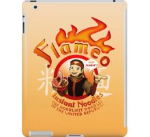 Flameo Instant Noodles! iPad Case/Skin