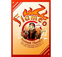 Flameo Instant Noodles! Photographic Print