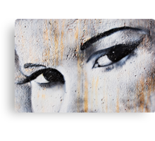 These Eyes.... Canvas Print