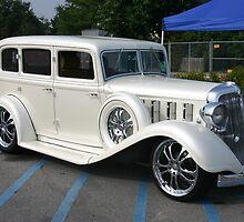 Pearl White Cadillac by Melanie Wells