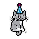 Minya Birthday Card by thickblackoutline
