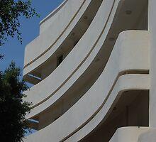 Tel Aviv Bauhaus Architecture by Tony Lupton