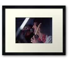 Mike Rudd & Bill Putt of Ariel, 1976 Framed Print