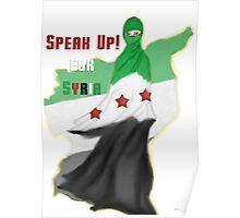 SPEAK UP for SYRIA! Poster
