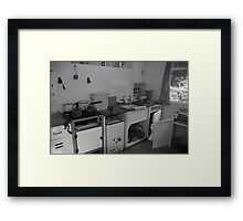 Not my idea of a fitted kitchen Framed Print