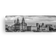 The Three Graces of Liverpool Canvas Print