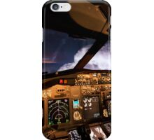 Thunderstorms ahead iPhone Case/Skin