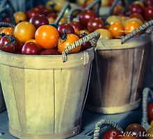 Baskets of Tomatoes by Marie  Cardona