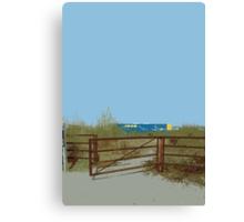 IKEA fence Canvas Print