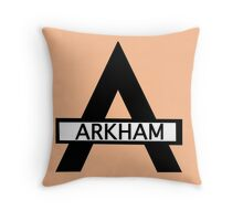 Batman : Arkham Asylum Throw Pillow