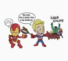BQB Avengers  by Sirroland