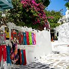 Clothes for Sale - Mykonos Greece by KSKphotography