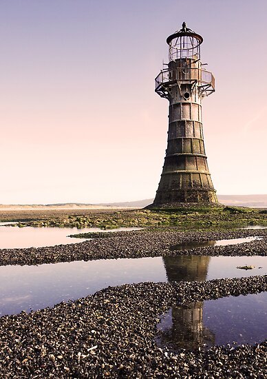 Whiteford Lighthouse by Paul Turner