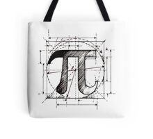 Pi Symbol Sketch Tote Bag