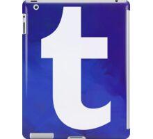 Textured Tumblr Logo iPad Case/Skin