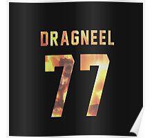 Dragneel jersey #77 Poster