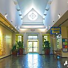 Inside the Garden Welcome Building by imagetj