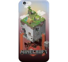 Minecraft - world of blocks iPhone Case/Skin