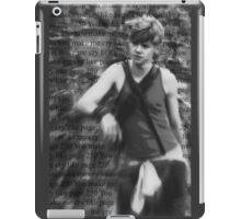You make me cry like page 250 iPad Case/Skin