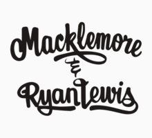 Macklemore and Ryan Lewis Logo by studiodopeness