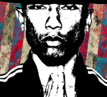 Pharrell Williams Stencil Sticker
