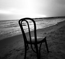 On the Beach, Lonely, Discarded by Heidelberger Photography