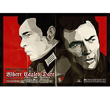 Where Eagles Dare (Alternative poster) Photographic Print