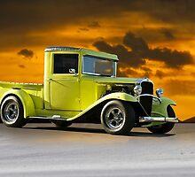 1933 Chevrolet Pickup Truck by DaveKoontz