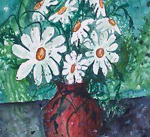 Daisy Vase by derekmccrea