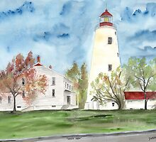 Sandy Hook Lighthouse by derekmccrea