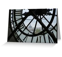 View From a Clocktower  Greeting Card