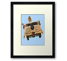 Dumb and Dumber Van Framed Print