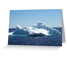 Iceberg...on close up Greeting Card