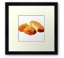 Chicken nugget Framed Print