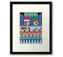 Breaking Christmas - Ugly Christmas Sweater Framed Print
