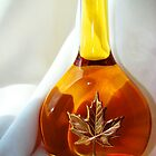 Bottle of honey by Rodica Nelson