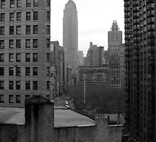 Empire State Building in the Distance by Jason Michaels