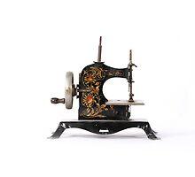 Child's Antique Sewing Machine by Jason Michaels
