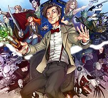 Eleventh Doctor - Doctor Who by antonioteni92