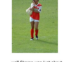 Women Footballers by Mark Wilson