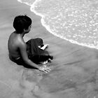 Boy By the Sea by slippinghalo