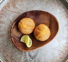 Sansa's Favorite Lemon Cakes by Gina Carra