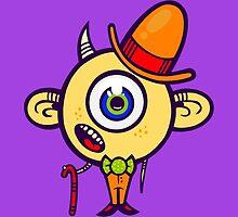 Dapper Monster by artdyslexia