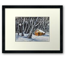 Hunters Moon Framed Print