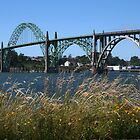 Yaquina Bay Bridge by oregonartphotos